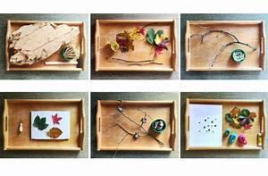 Tablett Für Kinder : 6 herbst tablett ideen f r schlechtwettertage montiminis ~ Orissabook.com Haus und Dekorationen