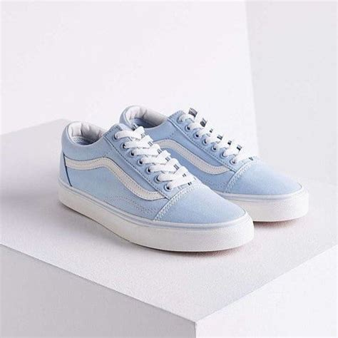 light blue vans sneakers vans skool light blue shoes