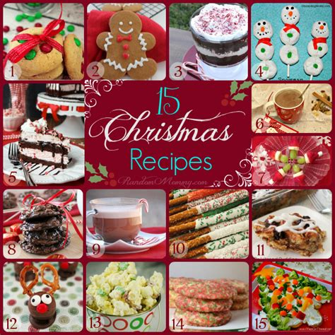 festive christmas recipes images