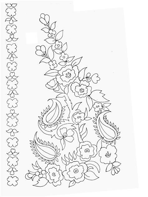 embdesigntube embroidery sketches shared  sarika agarwal
