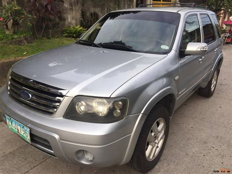 2007 Ford Escape by Ford Escape 2007 Car For Sale Metro Manila