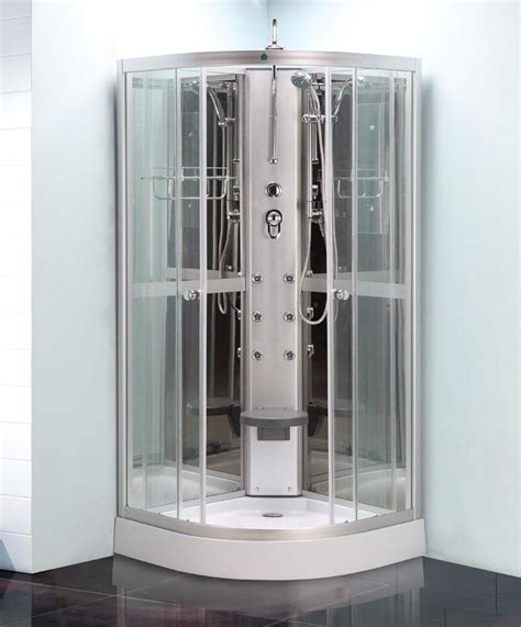 Shower Pod by Quadrant Shower Enclosure All In One Pod Mixer Valve Tray