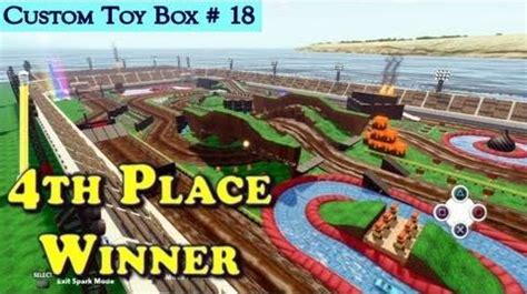monster truck race track toy video hd disney infinity race track content 4th place