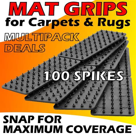 Stop Rugs Moving by Mat Grips Non Slip Slide Anti Skid Carpet Rug Hallway