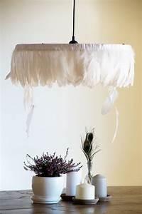 Lampe Aus Federn : feder lampe stunning moderne mode kreative feder lampe ~ Michelbontemps.com Haus und Dekorationen