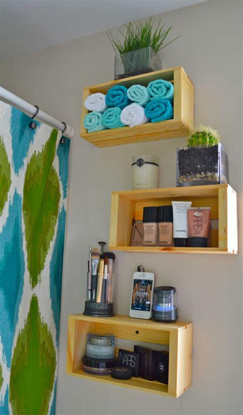creative diy wood crate shelf ideas  designs