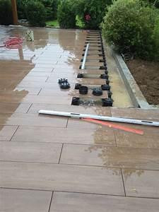 Terrasse Sur Plot : dallage carrelage sur plots la solution en haute savoie ~ Melissatoandfro.com Idées de Décoration