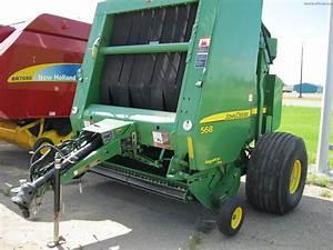 2009 John Deere 568 Hay Equipment - Round Balers