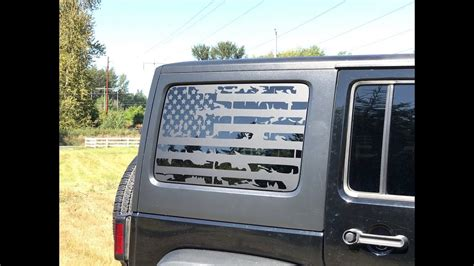 jeep cherokee american flag how to install american flag decals on a 2011 2017 jeep