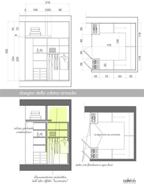 Dimensioni Guardaroba by Progetto Cabina Armadio Lineare Cerca Con