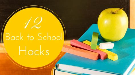 back to school hacks to 12 back to school hacks that will make your easier kidoodle tv