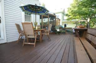Thompson Deck by This Deck Is Protected With Thompson S Water Seal Advanced