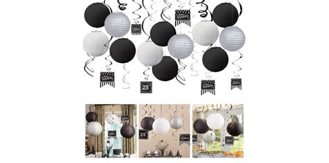 Black & White Birthday Party Supplies  Party City. Paper Roll Decorations. Pub Style Dining Room Sets. Lsu Party Decorations. Christmas Window Decor. Studio Apartment Room Divider. Rooms For Rent In Miami Beach Fl. Room Divders. Dining Room Area Rug Ideas