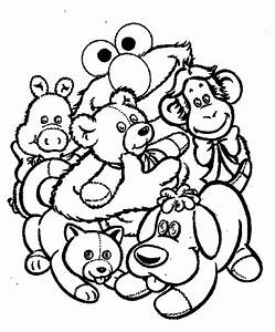 Elmo Birthday Coloring Pages - AZ Coloring Pages