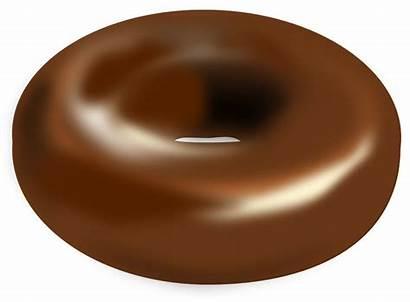 Donut Chocolate Cake Ring Goods Baked Doughnut