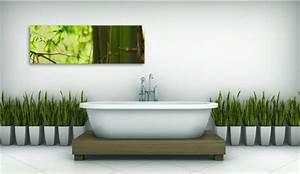 Tableau Pour Salle De Bain : tableau et papier peint quel style pour ma salle de bain ~ Dallasstarsshop.com Idées de Décoration