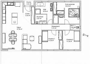 avis plan maison plein pied 120m2 19 messages With photo de plan de maison 15 premiers secours