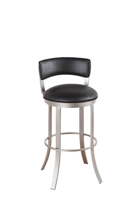 callee bailey padded back swivel stool 24 26 30 34 quot