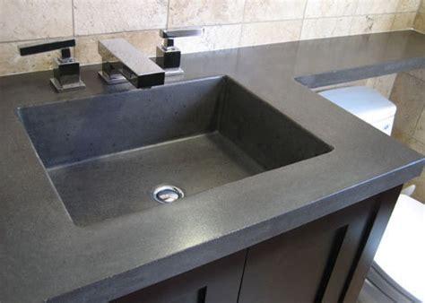 concrete bathroom sink diy concrete sinks for the bathroom