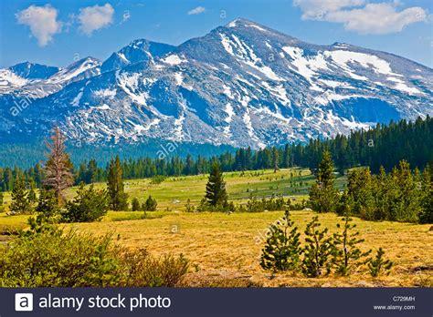 Mount Lyell From Tuolumne Meadows Tioga Road Yosemite