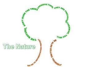 Tree Concrete Poem Examples