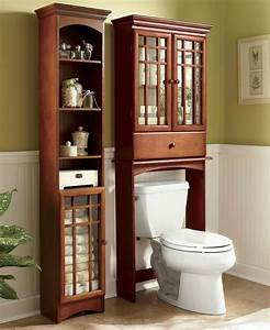 Bathroom Shelving Unit & Space Savers Over The Toilet ...