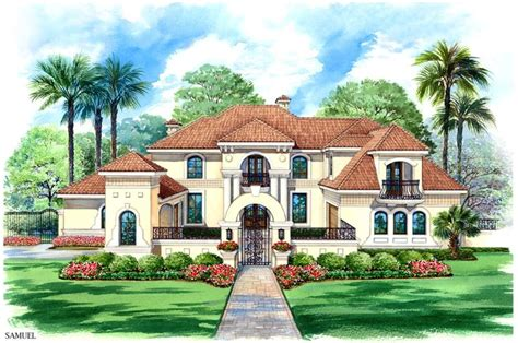 luxuary cartoon house pictures story luxury house plans