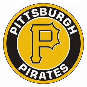 FANMATS MLB Pittsburgh Pirates Black 2 ft 3 in x 2 ft 3