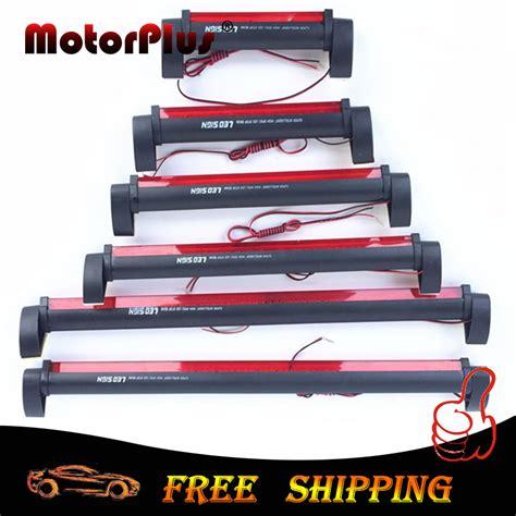 led third brake light bar 12v universal red led car styling third brake light bar