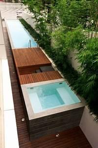 Mini Pool Im Garten : mini pool garten minimalistisch modern badewanne garten ~ A.2002-acura-tl-radio.info Haus und Dekorationen
