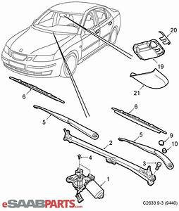12803629  Saab Rain Sensor  Windshield Wipers