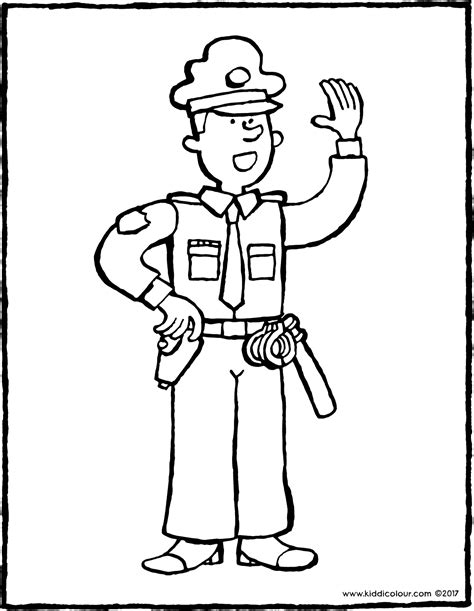 Polizist Kiddimalseite