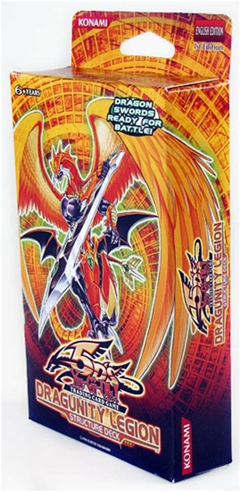 Dragunity Legion Structure Deck Strategy by Konami Yu Gi Oh Dragunity Legion Structure Deck Da Card
