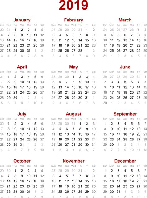 calendar calendar yearly printable