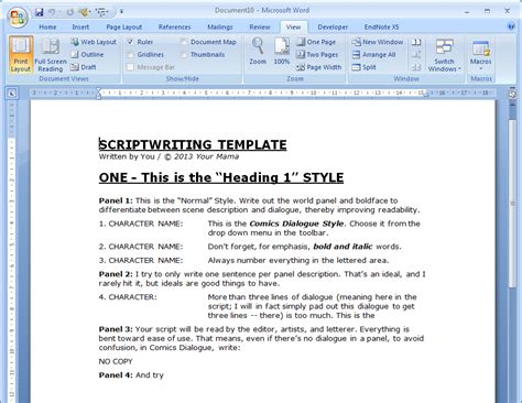 script template word oscar wilde comics october 2013