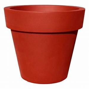 Grand Pot Plante : pot de fleur 100cm ikon pot xxl pour exterieur ~ Premium-room.com Idées de Décoration
