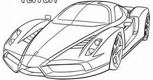 33 Dessins De Coloriage Ferrari à Imprimer