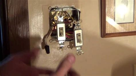 How Wire Double Switch Light Wiring