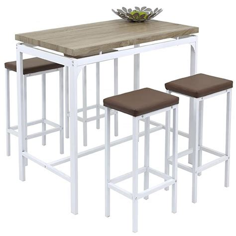 kitchen bistro table and chairs angie counter bar set 5 pc breakfast table and chairs