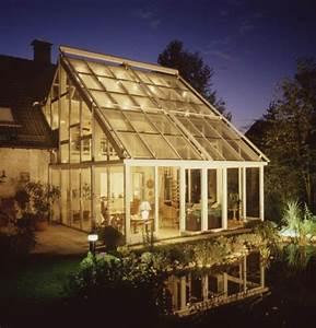 der wintergarten inspiration und ratgeber schoner wohnen With französischer balkon mit kleines glashaus für garten