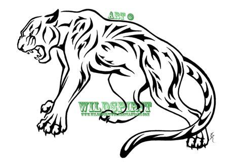 custom kulit tribal nature panther by wildspiritwolf on deviantart