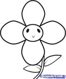 How to Draw Easy Flowers for Kids