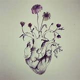 Anatomical Heart Tattoo Black And White | 736 x 736 jpeg 87kB