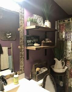 Small, Purple, Bathroom