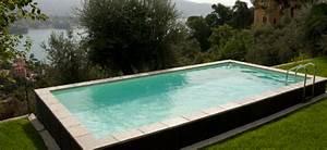 Piscine Semi Enterrée Composite : piscine semi enterre bois composite good piscine bois ~ Dailycaller-alerts.com Idées de Décoration
