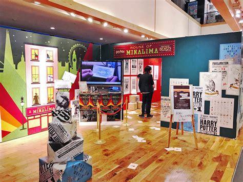 Up The Shop by The Minalima Pop Up Shop Opens In Nagoya Japan Mugglenet