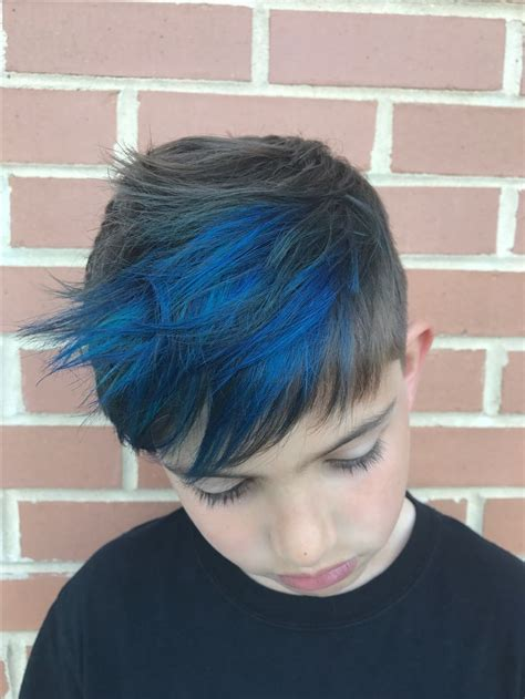 Boy Blue Highlights Hair Chases Wishlist