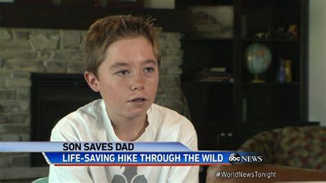 year  idaho boy scout saves dads life  boulder