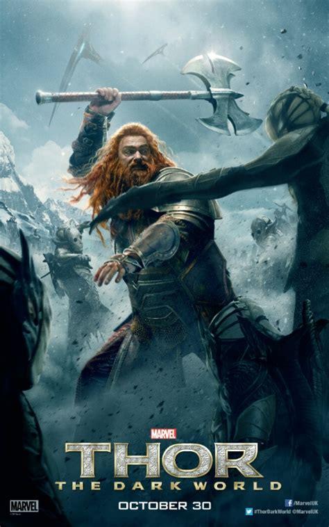 Zachary Levi's Fandral and Volstagg Thor Dark World ...