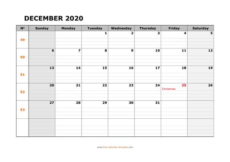 January 2021 Calendar Printable With Lines